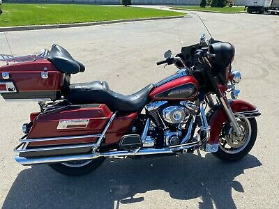 2007 Harley-Davidson Touring  2007 HARLEY DAVIDSON ELECTRA GLIDE CLASSIC FLHTC FIRE RED PEARL MOTORCYCLE