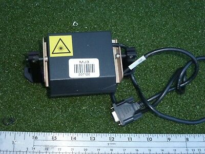 Microscan MS-710 Laser Barcode Scanner FIS-0710-0025 with bracket #207120-M2