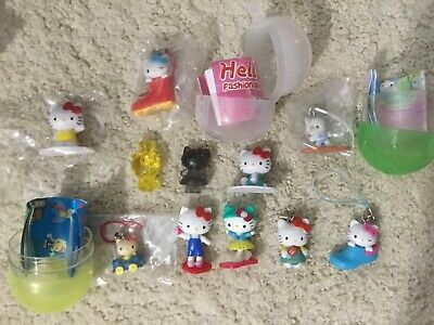Hello Kitty mini mascot charm figure capsule Sanrio