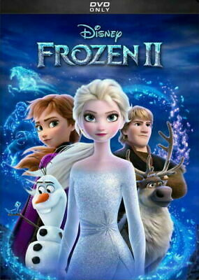 Frozen II / 2 - NEW DVD * ANIMATED COMEDY ADVENTURE* Brand New Now Shipping!