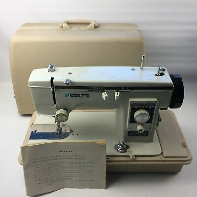 New Home Sewing Machine (NO PEDAL INCLUDED) - In case with manual, Embroidery