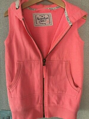 Next Aged 3 Orange Pink Bright Bodywarmer/Gilet