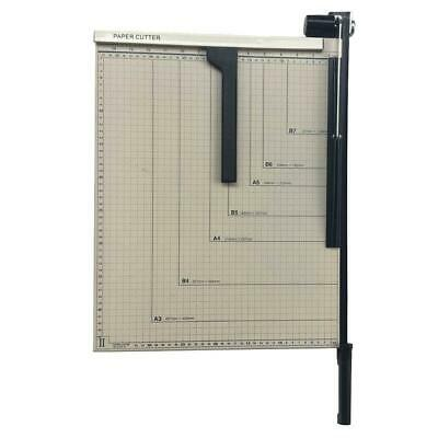 """Guillotine Paper Cutter Precision 18"""" Trimmer Base A3 Office Bindery Equipment"""