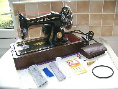 Singer 99K Heavy Duty S/S Electric Sewing Machine,Expertly Serviced,