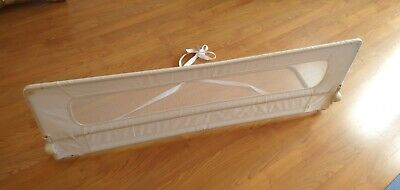 Safetots Extra Wide Bed Rail (Safety Mesh Kids Barrier Bed Guard) White