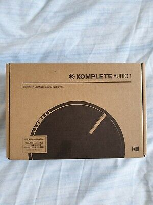 Native Instruments: Komplete Audio 1, Audio Interface