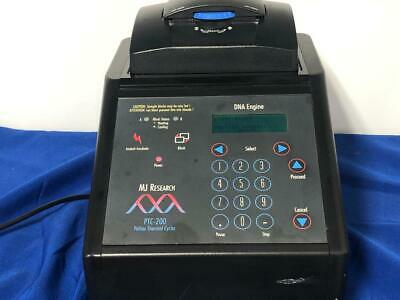 MJ Research PTC-200 Pelteir Thermal Cycler DNA Engine  CHECK VIDEO!!!!!