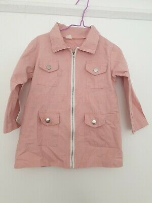 Girls Pink Top / Jacket Aged 3 Years
