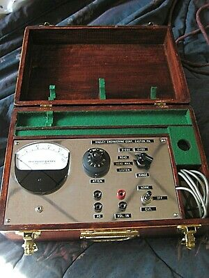 Vintage Microamperes Direct Currant Meter from Valley Engineering Corp. Easton,