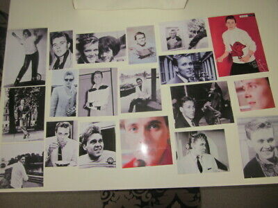 Billy Fury 16 Black & White And 3 Colour Laminated Photos Various Sizes