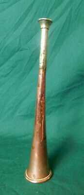 Antique Copper Hunting Horn / Powder Flask?