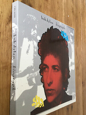 Bob Dylan.Biograph. 5  LP Box Set.Deluxe Edition.Includes 2 Booklets.