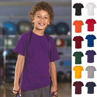 Russell Athletic Youth Essential 60/40 Performance Tee - 64STTB