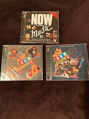 NOW THAT'S WHAT I CALL MUSIC II NO. 2 , 3 and 4 All Brand NEW & SEALED BARGAIN