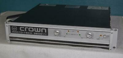 Crown 3600 Pro Audio Power Amplifier, FREE USA SHIPPING