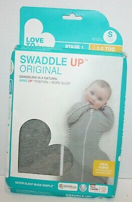 SEALED Love To Dream Swaddle UP Original Gray Small 7-13lbs