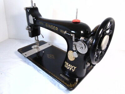 INDUSTRIAL STRENGTH HEAVY DUTY SINGER  SEWING MACHINE 16oz Leather WOW WOW
