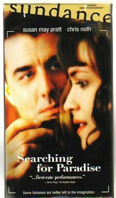 SEARCHING for PARADISE (vhs) girl stalks star with camera in hand, deleted title