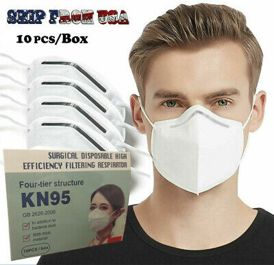 Disposable Face Mask Mouth Cover Medical Protective Respirator Masks K N95 KN95