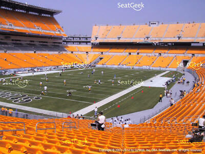 4 PITTSBURGH STEELERS TICKETS vs CINCINNATI BENGALS 11/15  - LOWERS