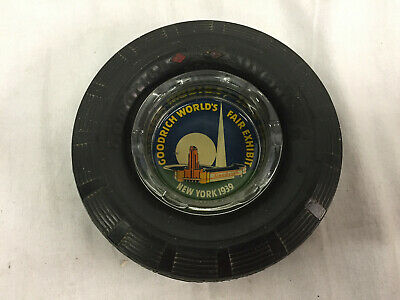 Goodrich Silvertown - 1939 Worlds Fair - Tire Ash Tray