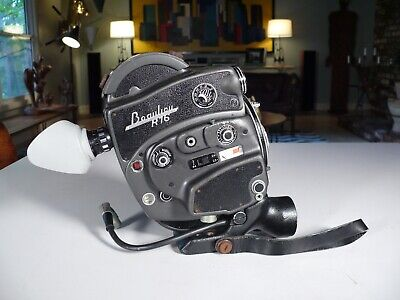Vintage Beaulieu R16 16mm Movie Film Camera Body, Made in France, Charger
