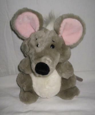 Collectible - Plush Grey Mouse, Rat, Mice