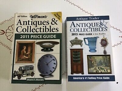 Antiques And Collectibles Books 2013 And 2011 Warmans And Antique Trader
