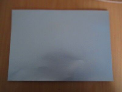 """75 Silver Sheets of Fasson 13 1/2""""  x  9 1/2"""" about 280gm2  SR4"""