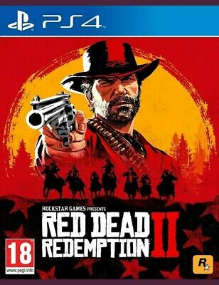 Red Dead Redemption 2 PS4 Playstation 4 MINT DISC Very Good Condition