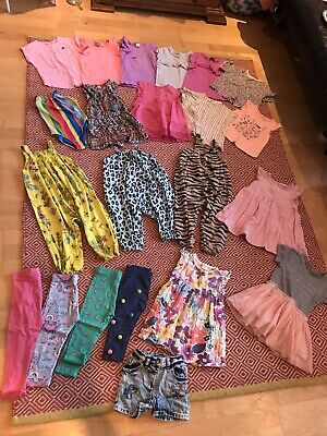 Huge NEXT Baby Girls 18-24 Bundle Brights Summer Clothes Outfit Bundle - Rainbow