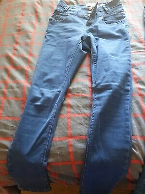 Girls New Look 915 Generation. High Waist Skinny Jeans, Aged 12 Years.