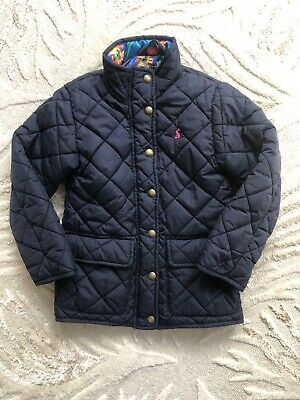 Girls Joules Coat Age 6 Quilted Jacket