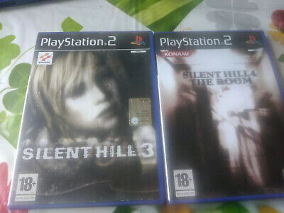 Lotto Silent Hill Ps2 Pal Ita Silent Hill 2-3-4 Completi