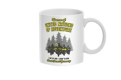 "Tasse ""Home of United Nations of Adventure"""