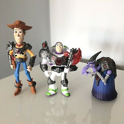RARE Toy Story That Time Forgot Cleric Buzz Woody Bundle
