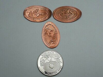 Rosstrappe elongated coins und memodaille