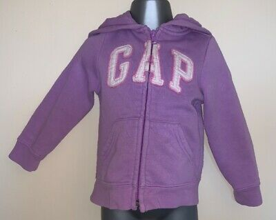 Gap Purple Girls Hoodie Age 2 Years excellent condition