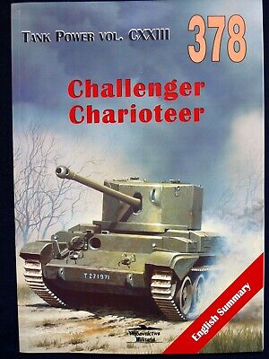 MILITARIA  378 , Challenger. Charioteer  BY JANUSZ LEDWOCH