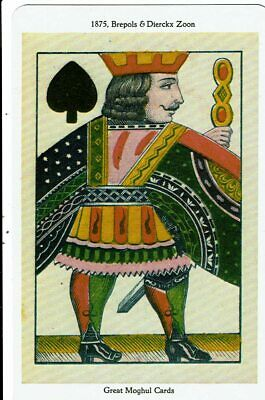 Carte de luxe-Great Moghul Cards- Roi de Pique VM16951