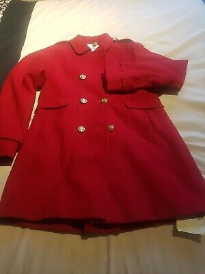 Red Girls Coat from next Size 12 Yrs