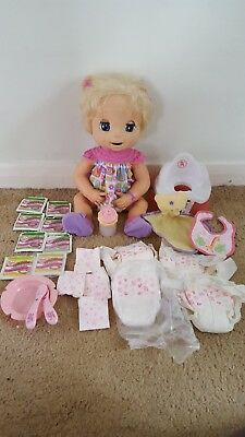 Baby Alive Doll 2006 With loads of Accessories RARE