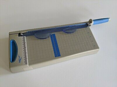Paper cutter guillotine with extention