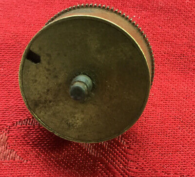 Clock Barrel And Spring From A Small French Clock Or Similar ??