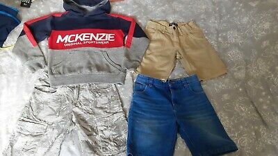 Boys Age 10 Clothes Bundle! Shorts From Next Etc & Mckenzie Hoody.