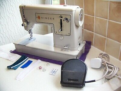 Singer 449 Straight Stitch Heavy Duty Sewing Machine,Expertly Serviced