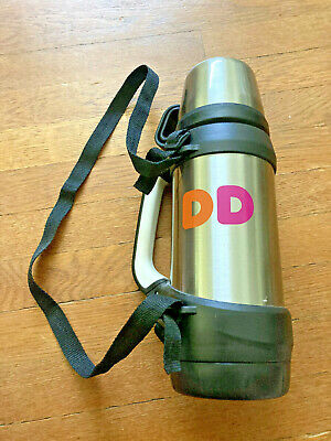 Dunkin' Donuts DD 2018 32 oz. Stainless Steel Hot/Cold Insulated Mug/Thermos NEW
