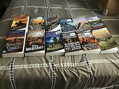Bulk Lot Of Western Books