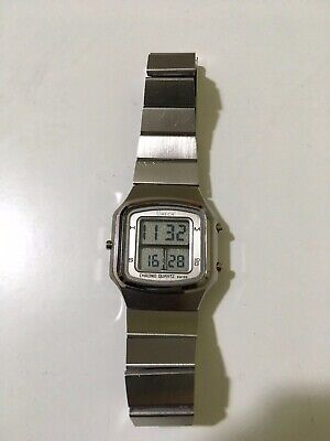 swiss watch digital LCD vintage chrono esa 934.712