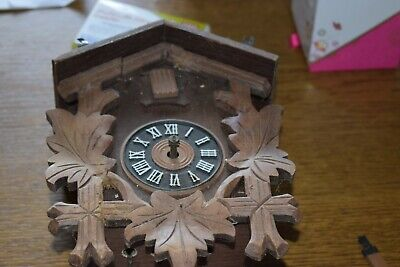 West German regula cuckoo clock august Schawer